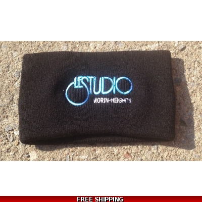 Le Studio Black Winter Headband W & BFront Logo M/H