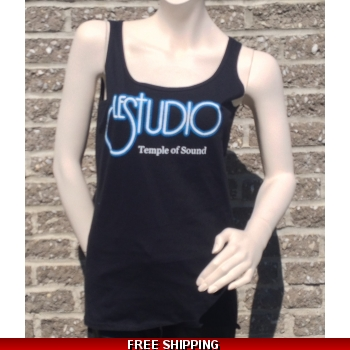Woman Black Tank Top Wh..