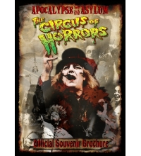 2008 - Apocalypse in the Asylum - Souvenir Brochure