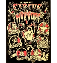 Freak Show - Vince Ray A5 Circus of Horrors Picture Card