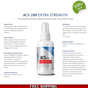 ACS 200 Silver Extra Strength 2oz  - Results RNA