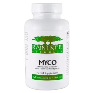 Raintree Formulas MYCO 500mg 120 Veg Capsules - In Stock