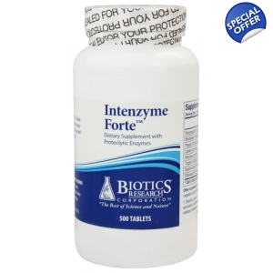 Intenzyme Forte by Biotics Research - Panceatic Enzymes Therapy