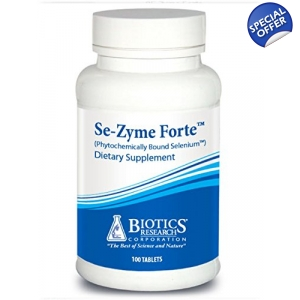 Se-Zyme Forte by Biotics Research Selenium 100t