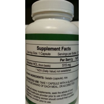 Emperical Labs Betaine HCL 240 Ct