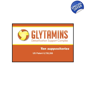 Glytamins by RemedyLink Support Complex Suppository 10 Count