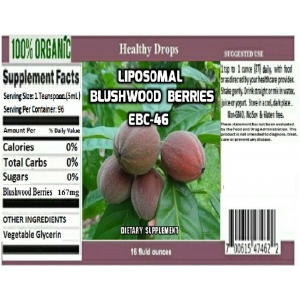 Liposomal Blushwood Berry Extract
