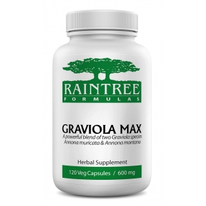 Raintree Graviola MAX 120 Vegan Capsules - In Stock