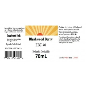 Blushwood Berry Tincture Concentrated 70 ml