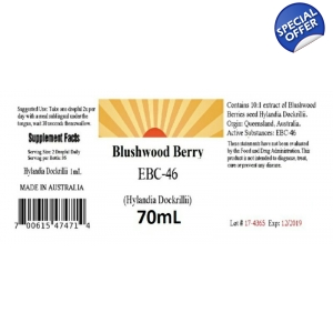 Blushwood Berry Tincture Concentrated 70 ml or 36ml