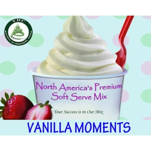 YDC Vanilla Moments Soft Serve Ice Cream Mix