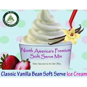 YDC Classic Vanilla Bean Soft Serve Ice Cream Mix