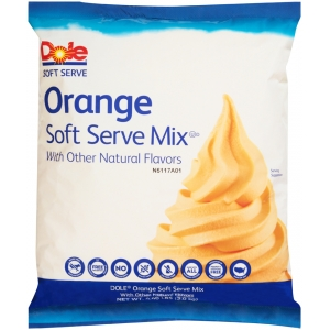 Dole Orange Soft Serve Mix