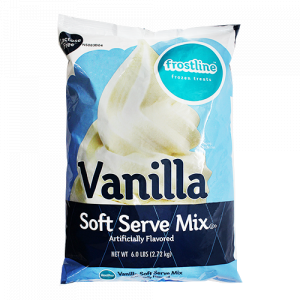 Frostline Vanilla Soft Serve Ice Cream Mix