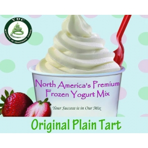 Plain Tart Soft Serve Frozen Yogurt Mix