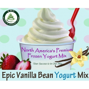 Epic Vanilla Bean Frozen Yogurt Mix