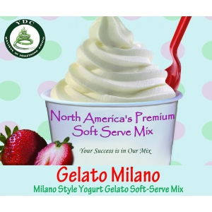 Milano Soft Serve Gelato Mix