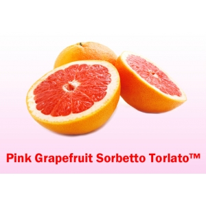 Pink Grape Fruit Soft-Serve Fruit Sorbet Mix