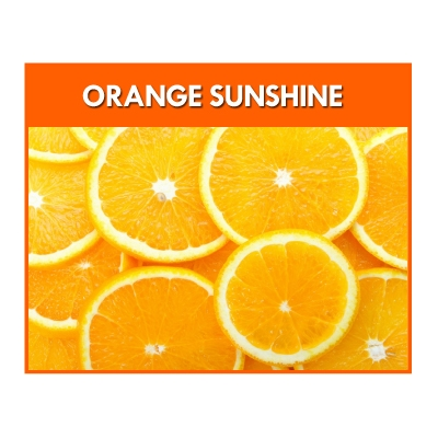 Orange Sunshine Flavour..