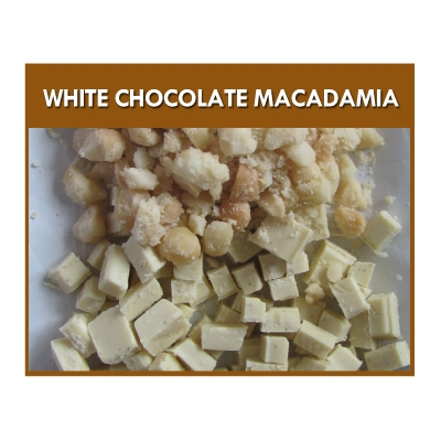 White Chocolate Macadam..