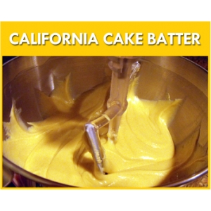 California Cake Batter Flavour Mix