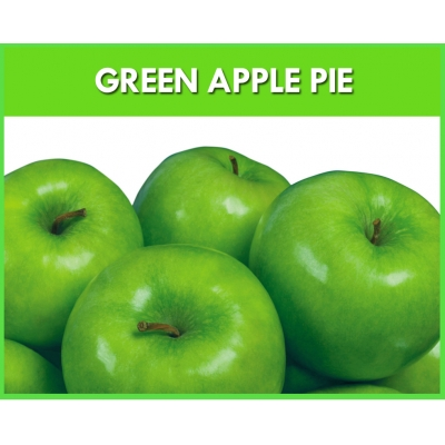 Green Apple Pie Flavour..