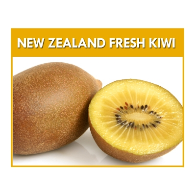 New Zealand Golden Kiwi..