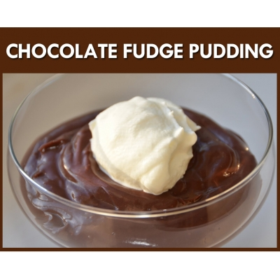 Chocolate Fudge Pudding..