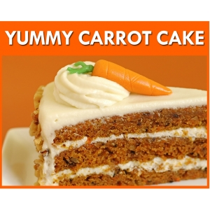 Yummy Carrot Cake Flavour Mix