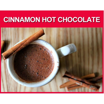 Cinnamon Hot Chocolate ..