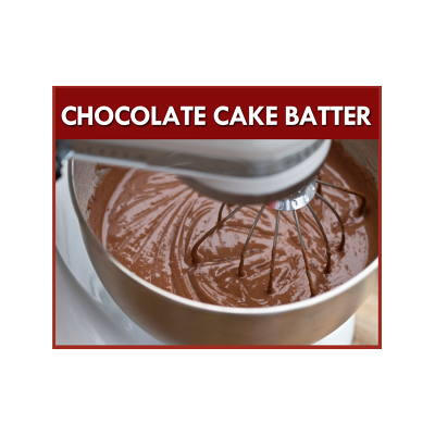 Chocolate Cake Batter F..