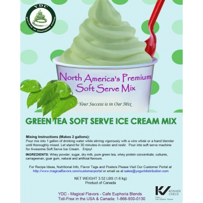 Green Tea Ice Cream Mix