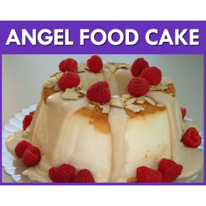 Angel Food Cake Flavour Mix