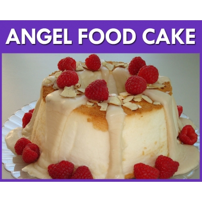 Angel Food Cake Flavour..