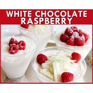 White Chocolate Raspberry Flavour Mix