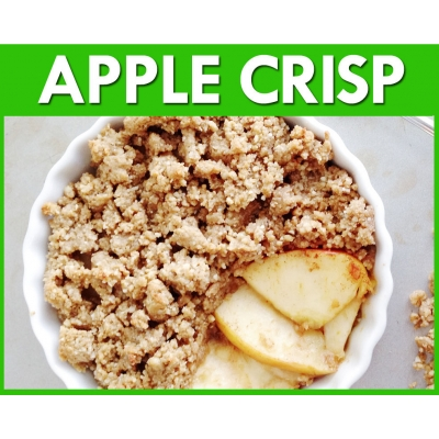 Apple Crisp Flavour Mix