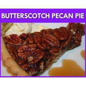Butterscotch Pecan Pie Flavour Mix