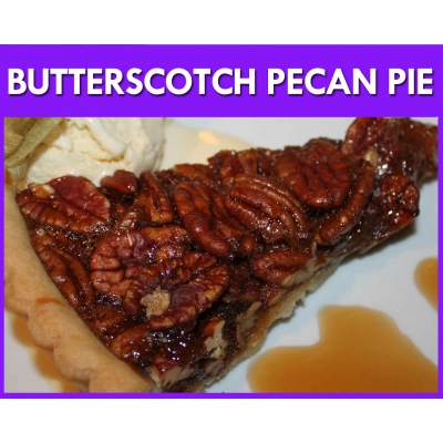 Butterscotch Pecan Pie ..