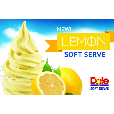 Dole Lemon Soft Serve Mix