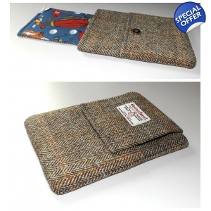 Harris Tweed iPad Mini Cover with Golf Lining