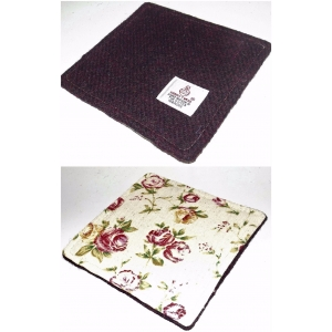 Harris Tweed Drinks Coaster