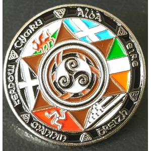Celtic Nations Badge