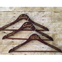Wedding and Bridal Party Hangers