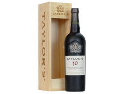 Taylor's 10 Year Old Tawny Wooden Box