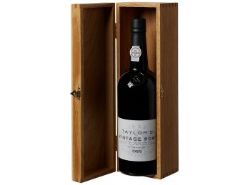 Taylor's 1985 Vintage Port, in Wooden Case
