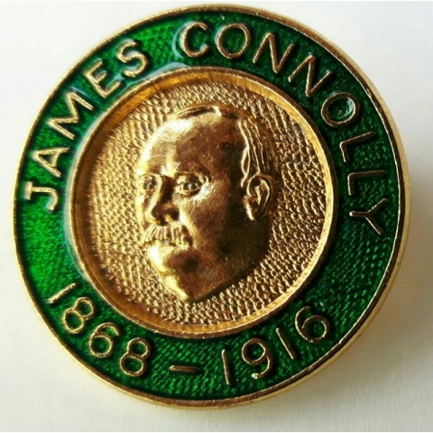 James Connolly Badge