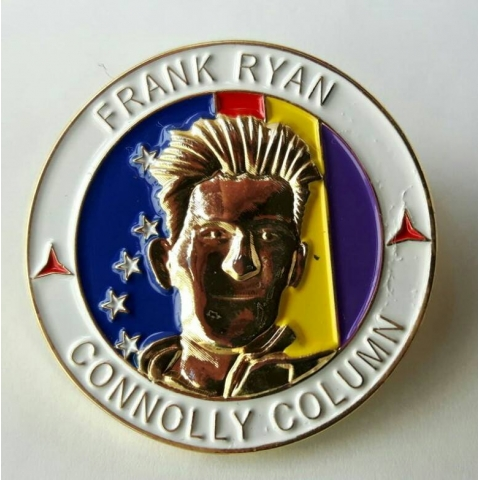 Frank Ryan Connolly Column Badge