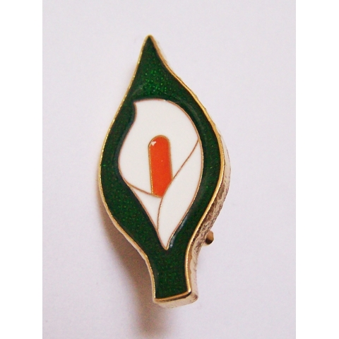 Easter Lily Badge