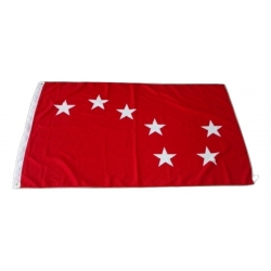 Starry Plough Flag RED