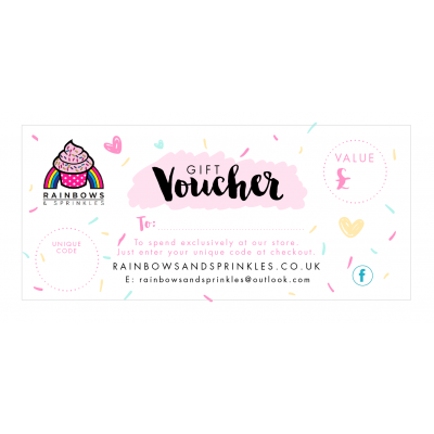 Gift Voucher - please read below before ordering